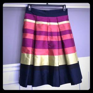 Anthropologie Silk Skirt
